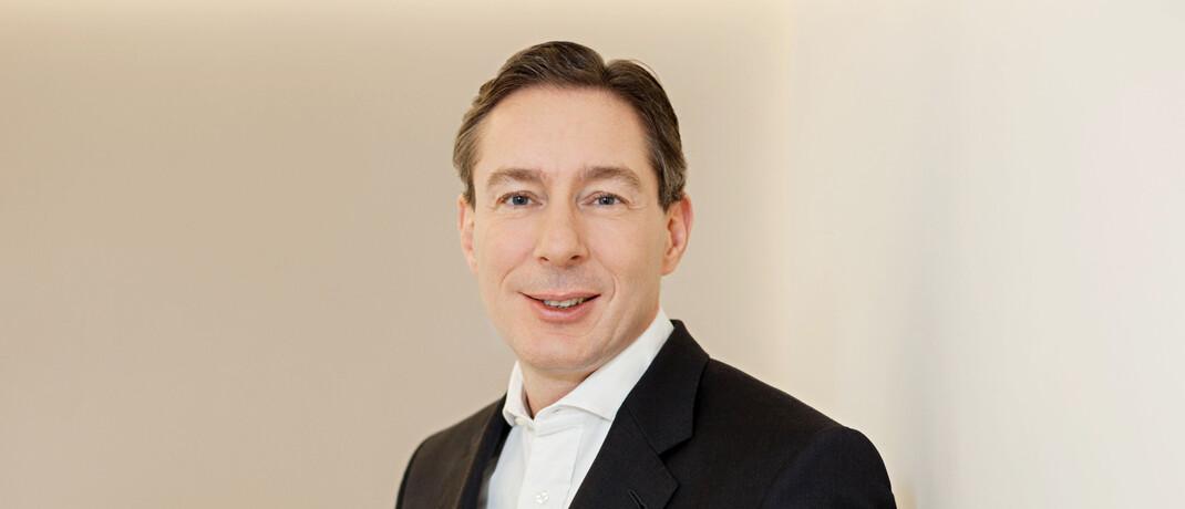 Johannes Anschott, Vorstandschef bei Commerz Real