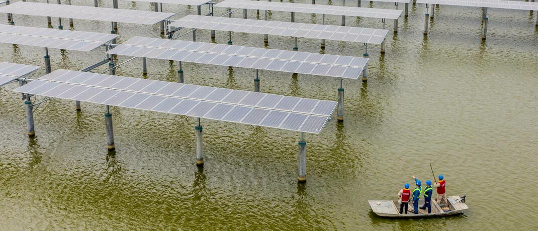 Solarkraftwerk in China
