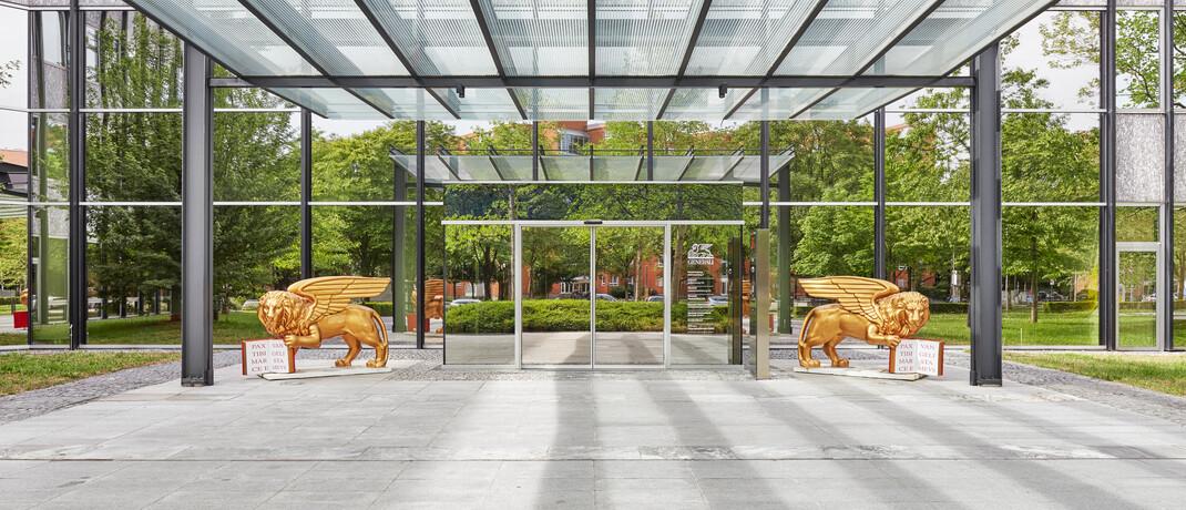 Unternehmenssitz der Generali in München