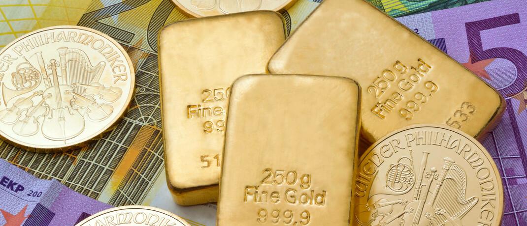 Geldscheine – und Gold im Wert von 43.500 Euro