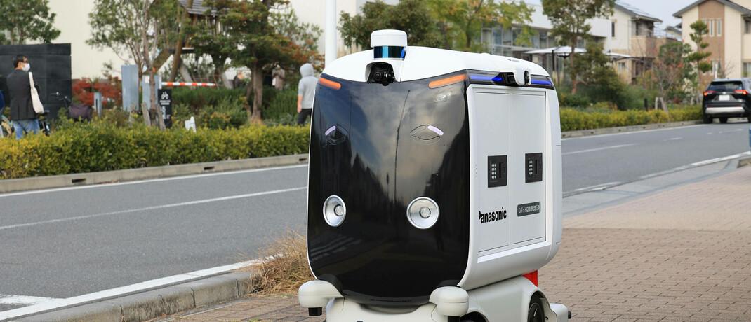 Roboterautos sollen in Japan Essen ausliefern