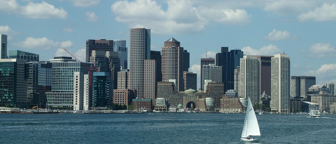 Skyline von Boston