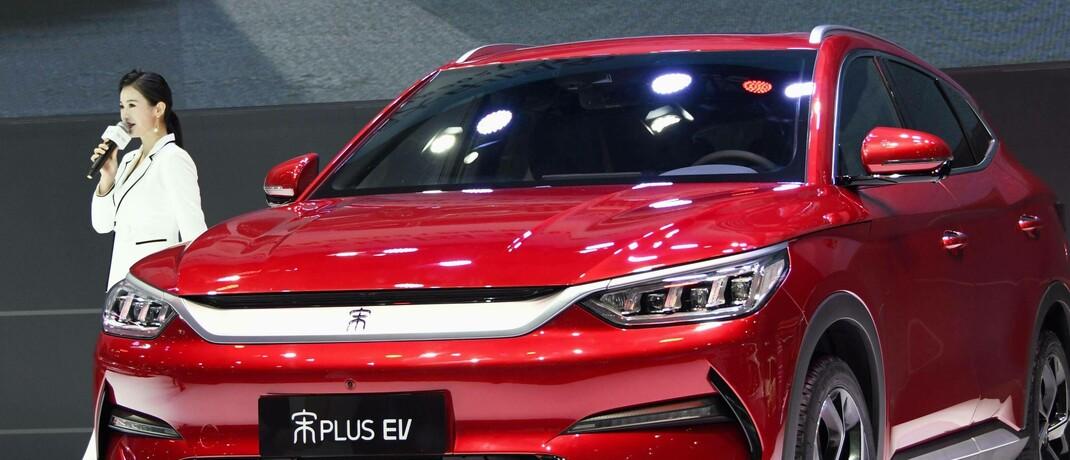 Elektro-SUV des chinesischen Herstellers BYD