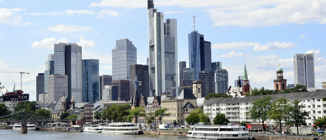 Frankfurter Bankenviertel, Sitz von BNP Paribas Asset Management Deutschland