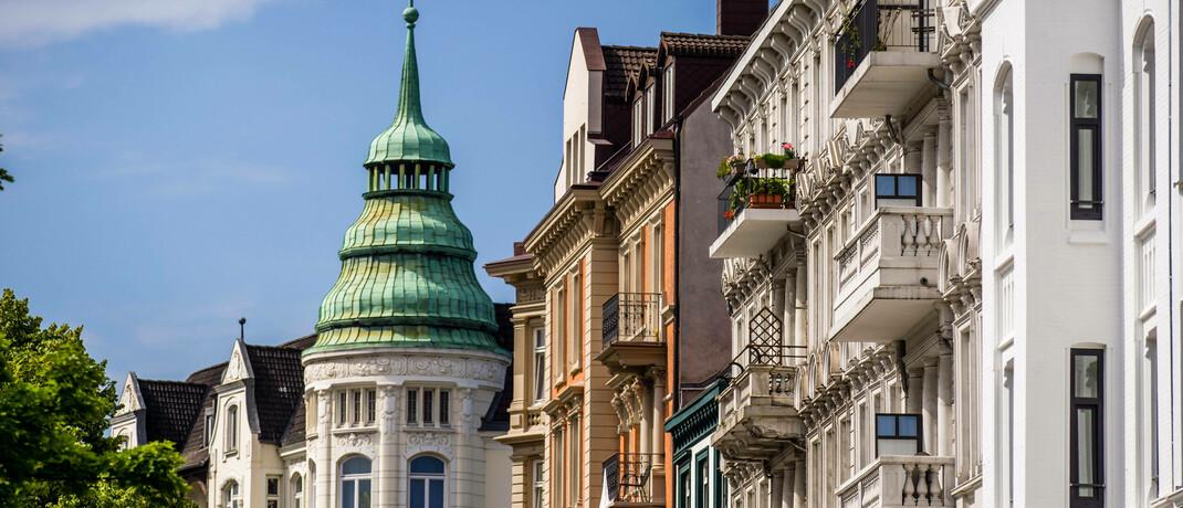 Altbauten in Hamburg
