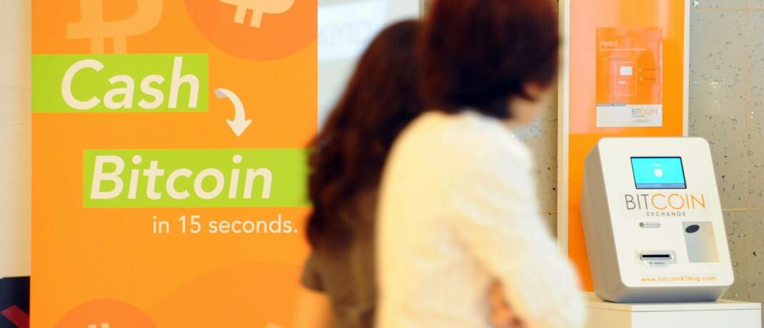 Bitcoin-Automat in Singapur