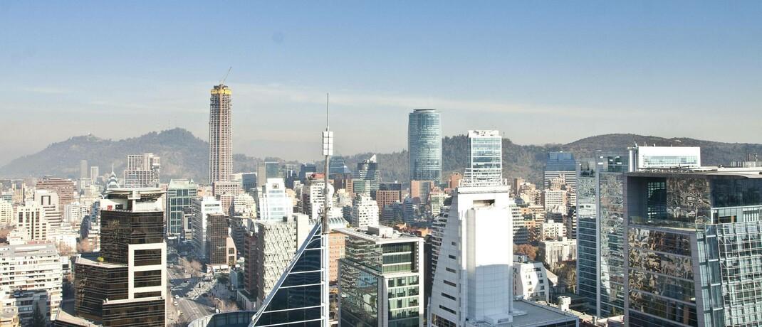 Chiles Hauptstadt Santiago de Chile
