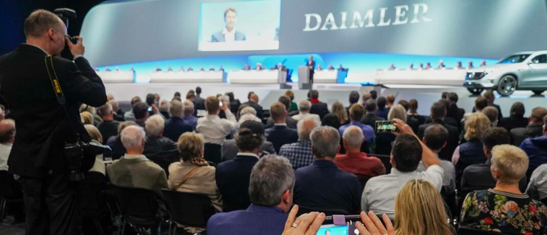 Hauptversammlung 2019 bei Daimler