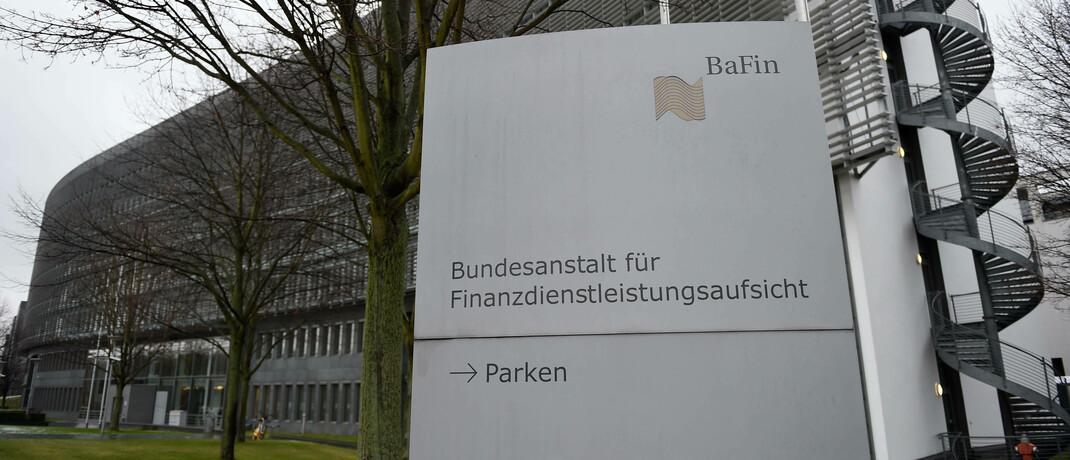 Verwaltungsgebäude der Bafin in Frankfurt