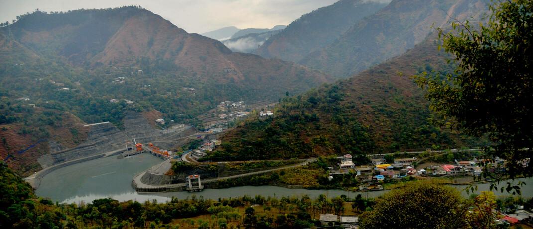 Wasserkraftwerk in Pakistan