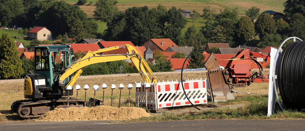 Ausbau des Breitband-Internets