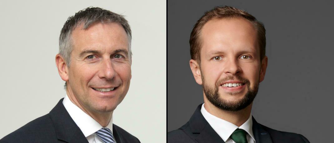 Vorstandsschef Dirk Rüttgers (links) und Portfoliomanager David Wehner, Do Investment