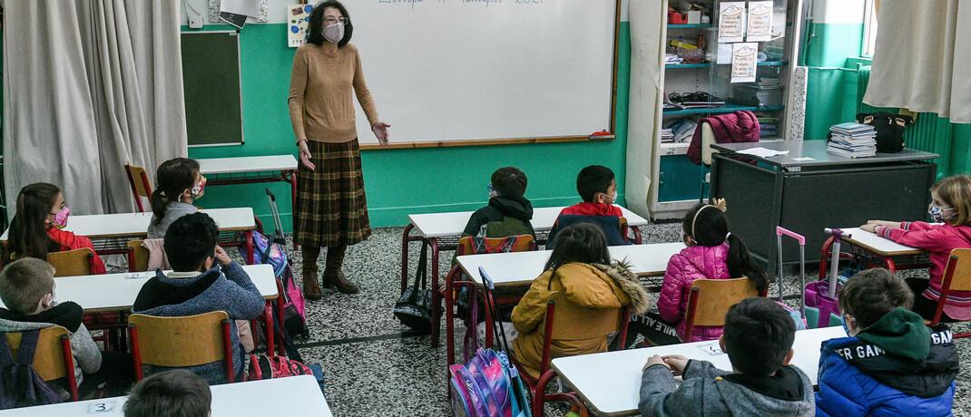 Grundschul-Unterricht in Zeiten von Corona
