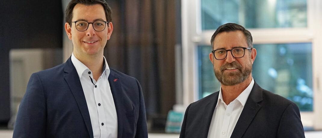 Daniel Regensburger (li.) und Uwe Mahrt, das Geschäftsführer-Duo von Pangaea Life.