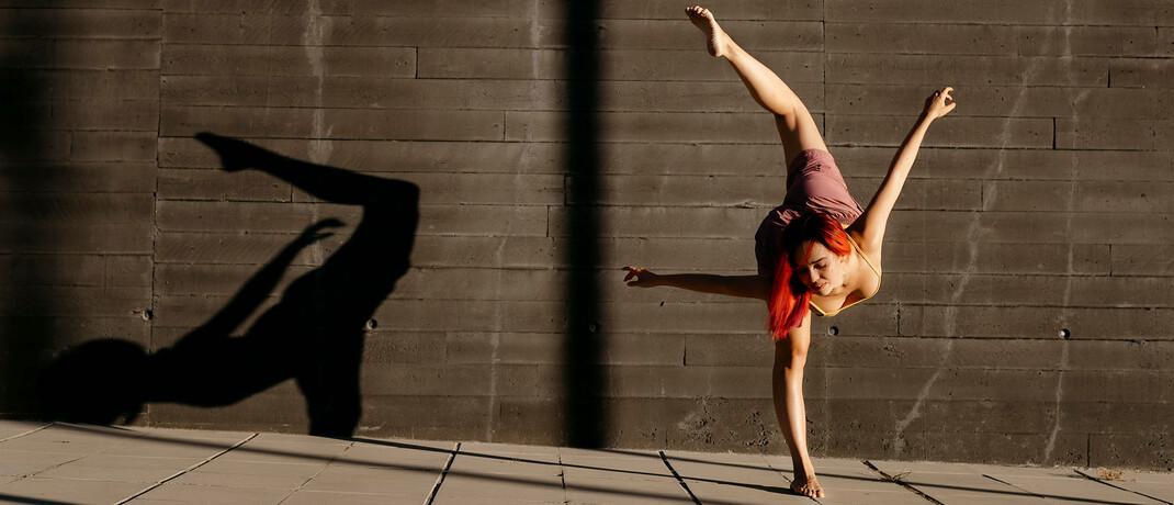 Eine Tänzerin