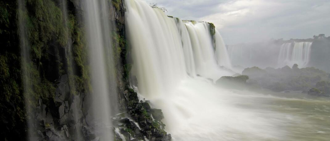 Iguazú-Wasserfälle in Brasilien