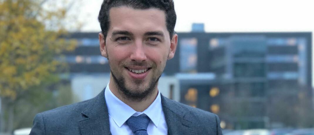 Fynn Monshausen, neuer Leiter Digitalvertrieb bei der Gothaer.