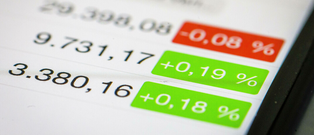 Börsenkurse auf dem Smartphone