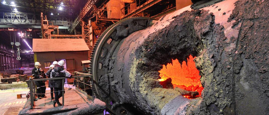 Gießerei von Norilsk Nickel