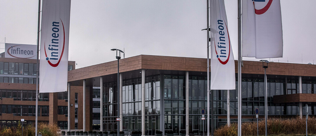 Firmengebäude von Infineon