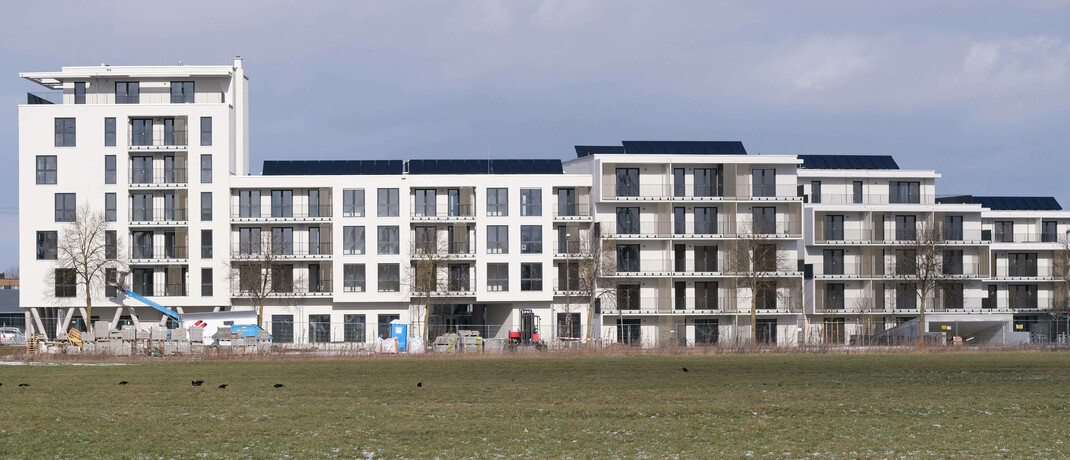 Neubauten in Gersthofen