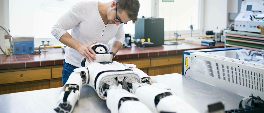 Modularer humanoider Roboter Myon