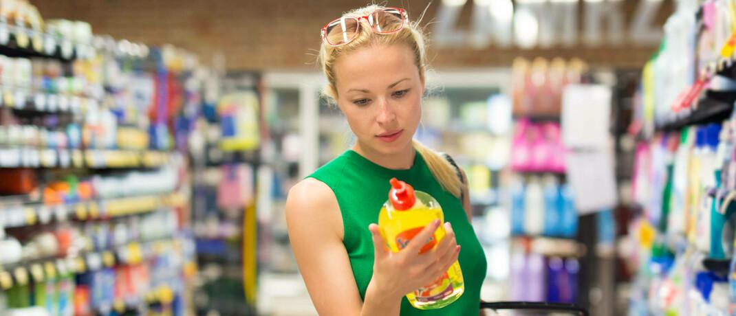 Bio-Produkte sind im Supermarkt häufig teurer