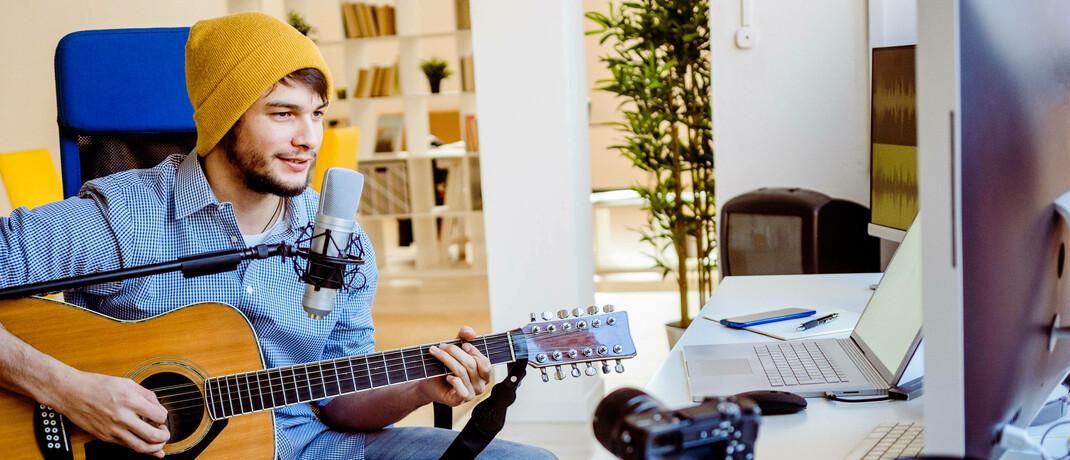 Gitarren-Unterricht online