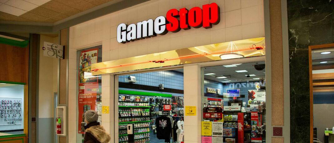 Gamestop-Filiale in Selinsgrove im US-Bundesstaat Pennsylvania