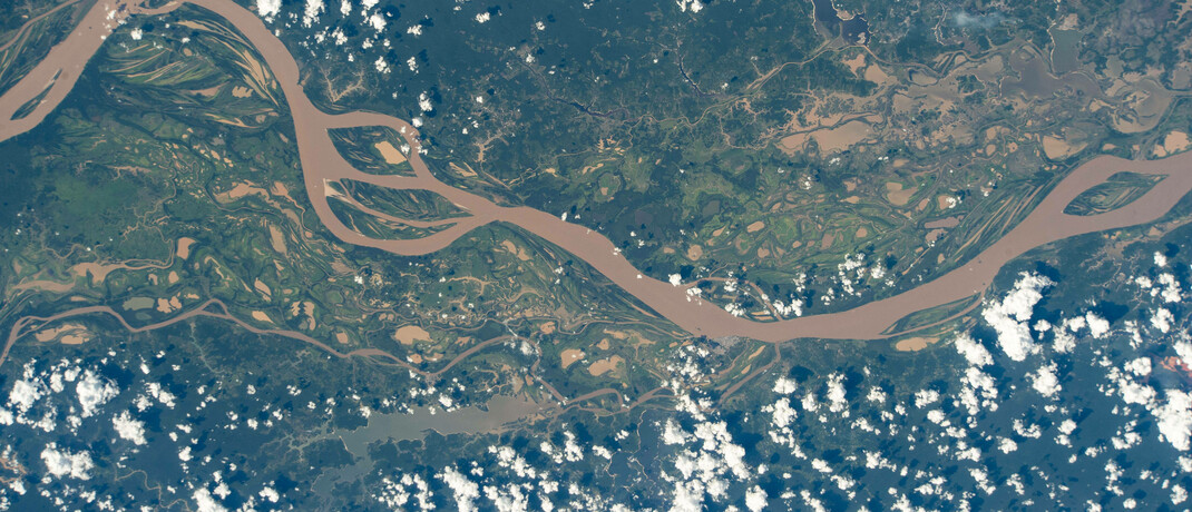 Luftbild des Amazonas