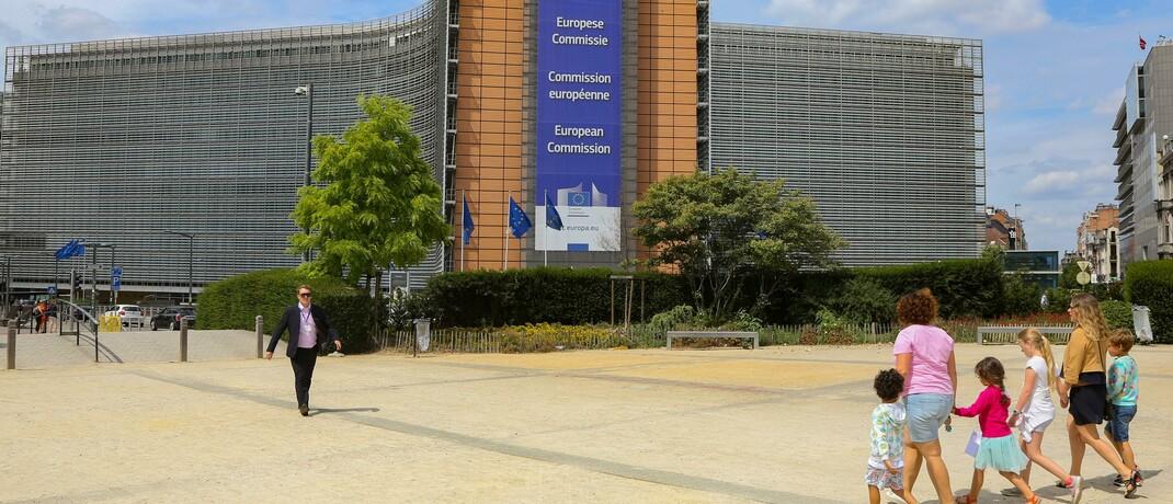 Sitz der Europäischen Kommission in Brüssel