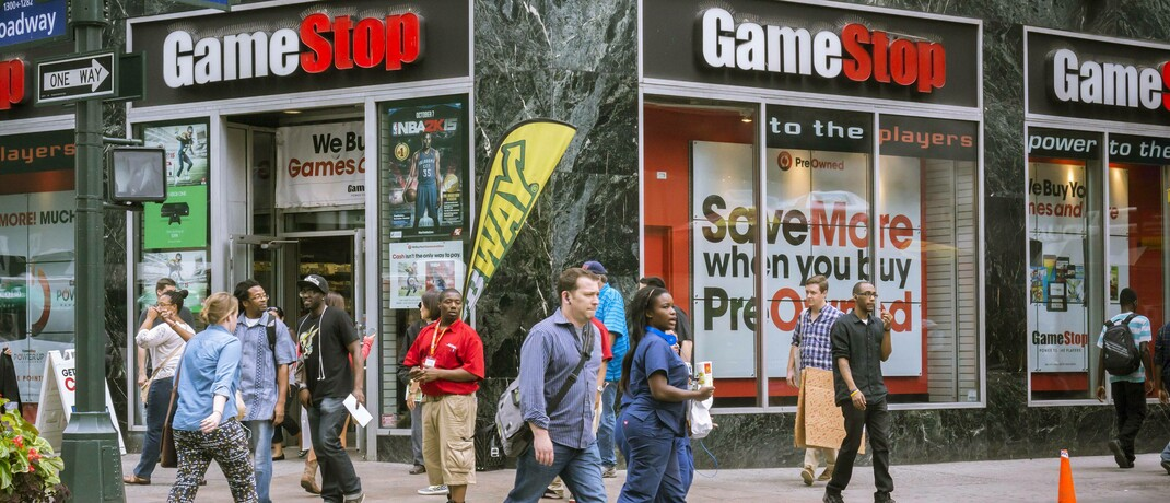 Gamestop-Filiale in New York