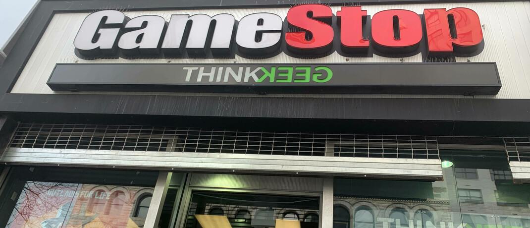 Gamestop-Filiale in New York.
