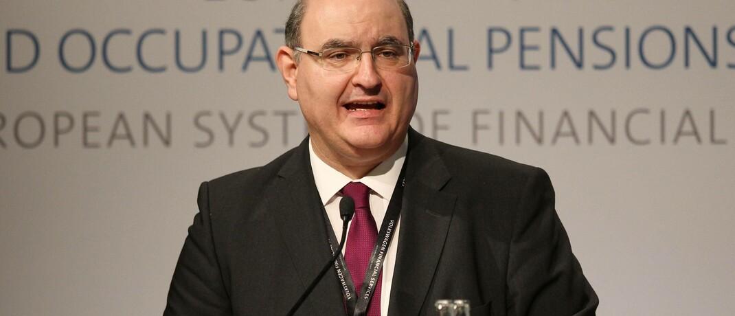 Eiopa-Präsident Gabriel Bernardino