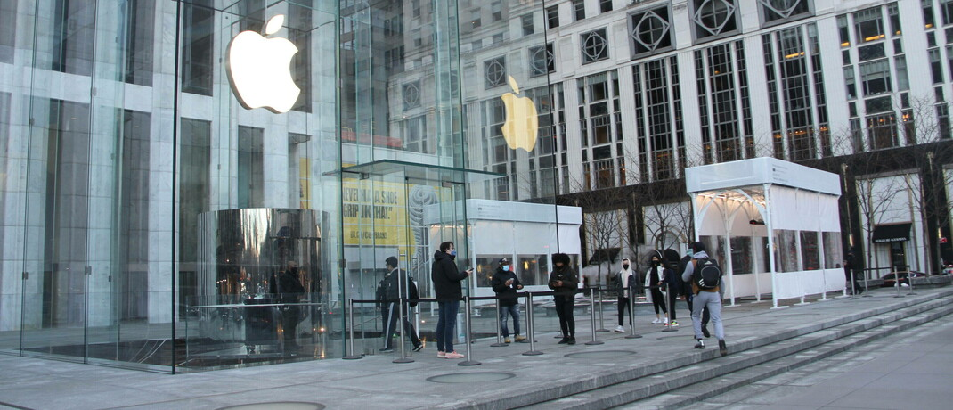 Apple-Store in New York