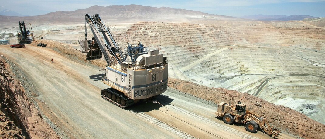 Kupfermine in Chile