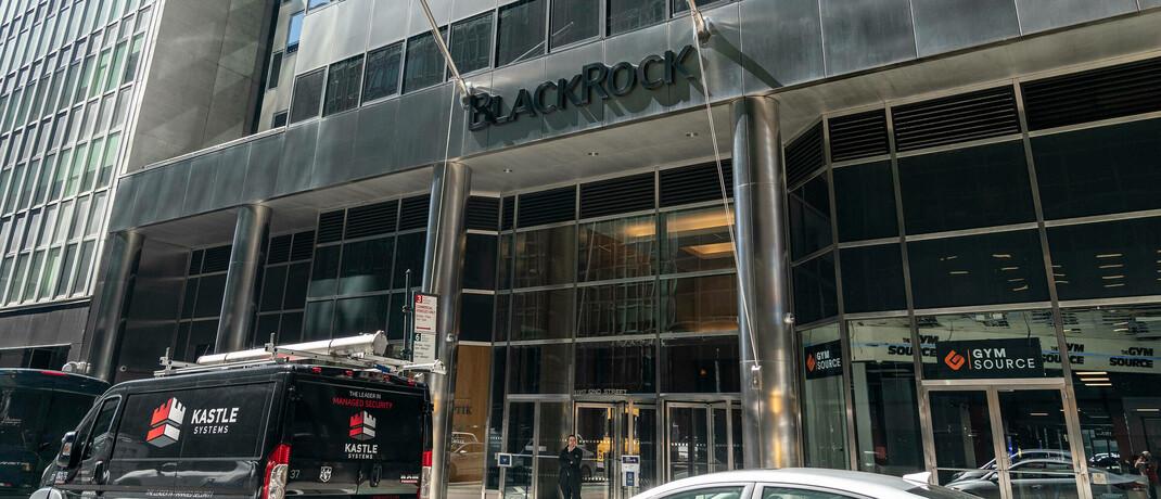 Zentrale von Blackrock in New York City