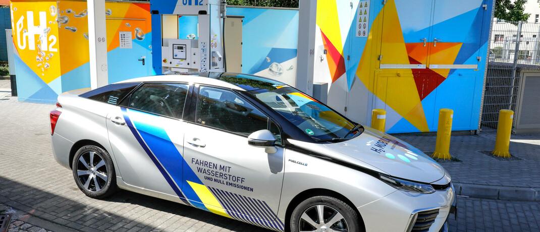Wasserstoff-Tankstelle in Berlin