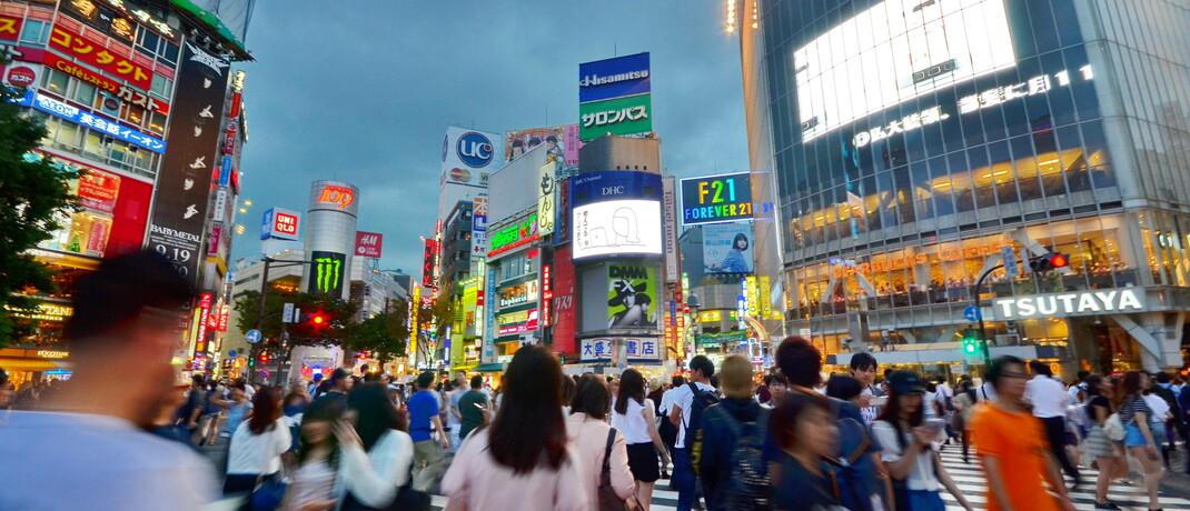 Shibuya-Kreuzung in Tokyo