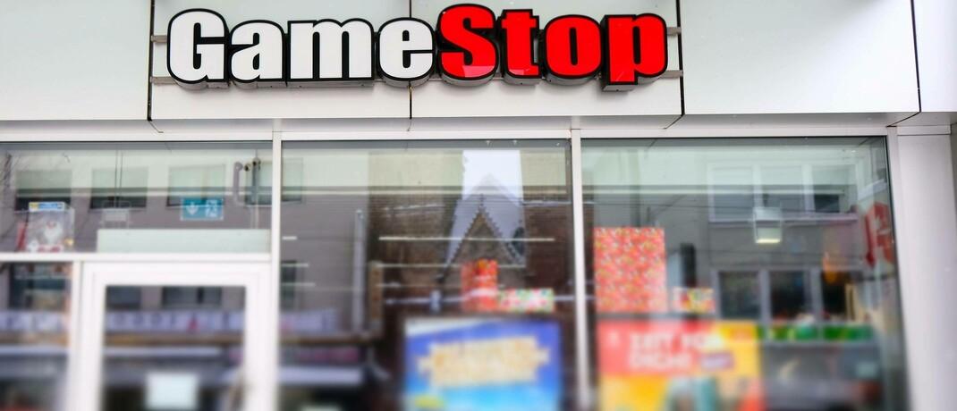 Gamestop-Filiale in Kassel