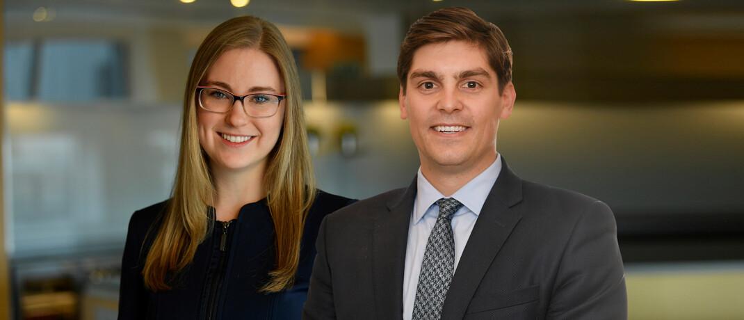 Goldman-Sachs-Experten Julia Rees und Luke Barrs