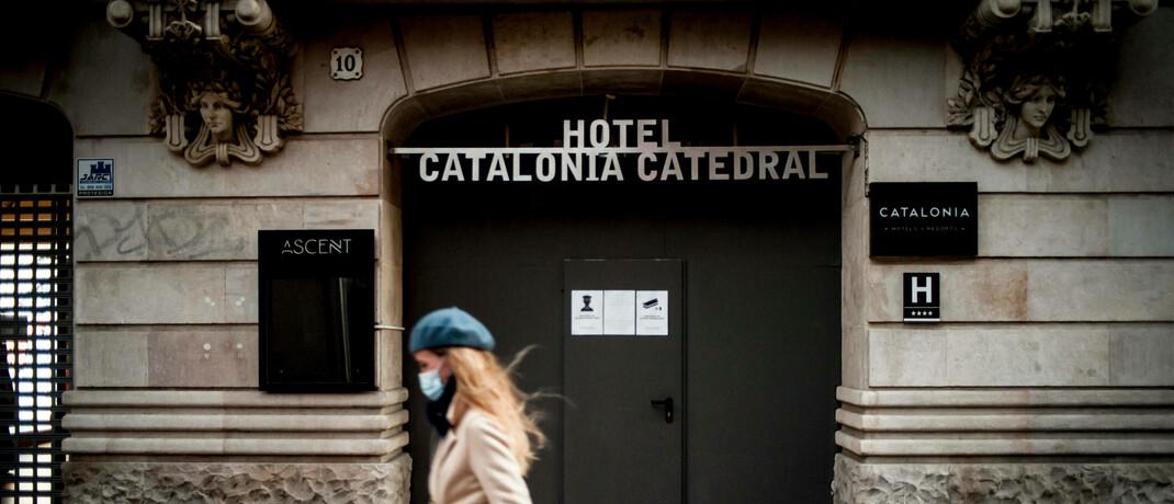 Geschlossenes Hotel in Barcelona