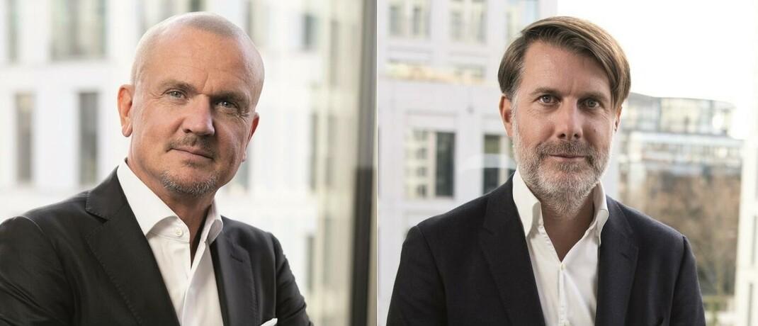 Thomas Oliver Müller und Dr. Sven Neubauer von der Deutschen Finance Group