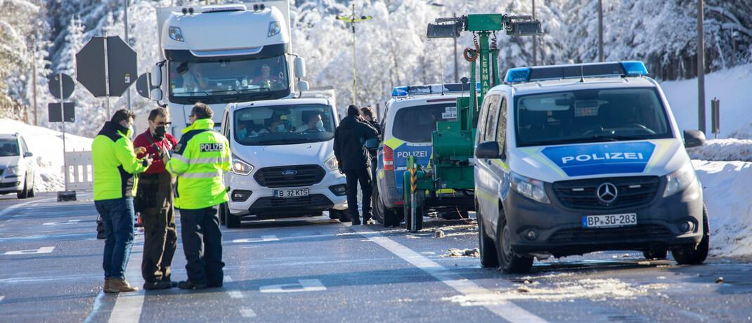 Verschärfte Grenzkontrollen in Europa