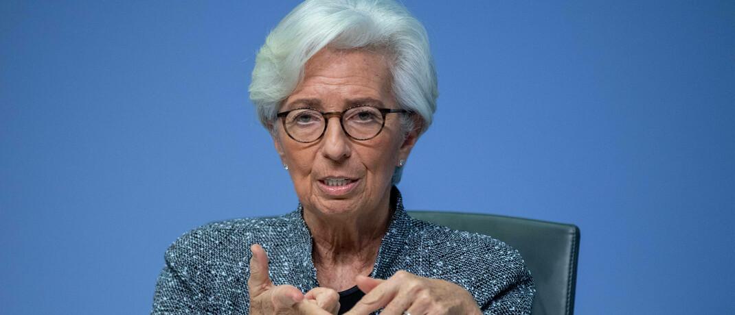 EZB-Chefin Christin Lagarde