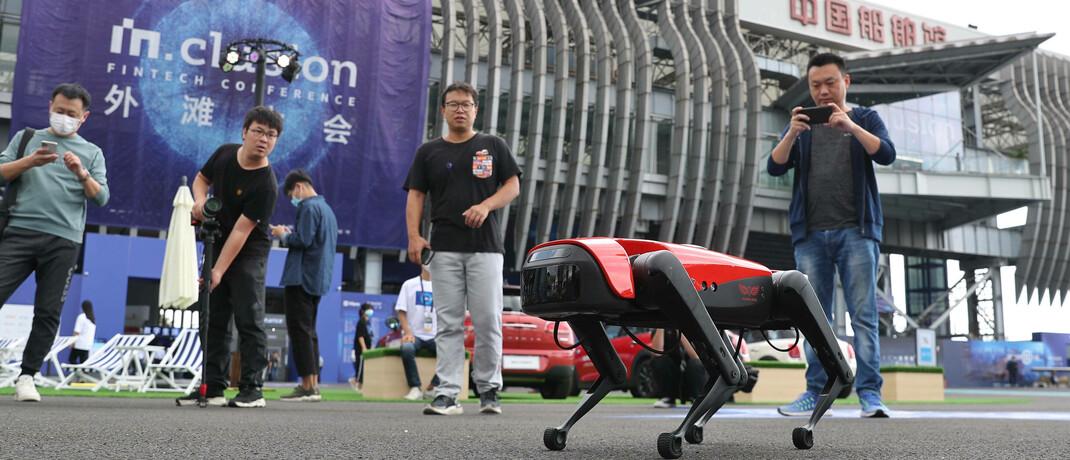 Roboter-Show in Schanghai