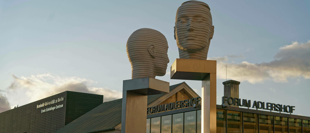 Technologiepark Adlershof im Südosten der Hauptstadt