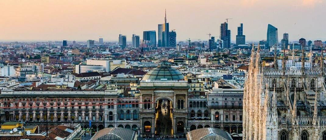 Alt und Neu in Mailand