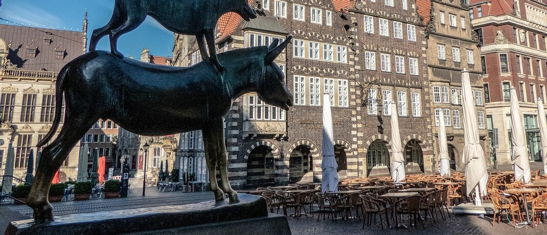 Altstadt in Bremen