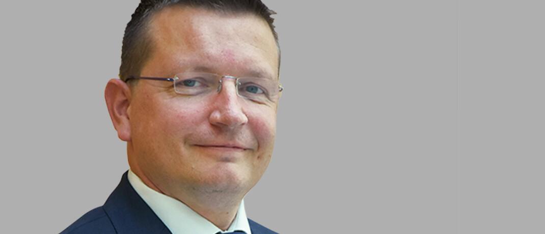 Patrick Sürth, neuer Abteilungsleiter Feuer-Industrie für Deutschland und Österreich bei Chubb.